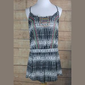 NWT Jessica Simpson boho embroidered romper